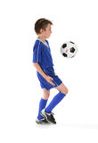 Soccer moves Royalty Free Stock Images