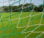 Soccer net Stock Image