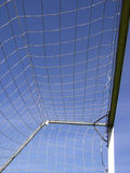 Soccer net Royalty Free Stock Photos