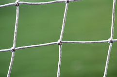 Soccer Net. Detail Royalty Free Stock Photography