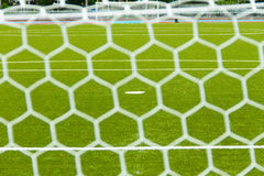 Soccer net Royalty Free Stock Images