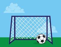 Soccer Net Stock Images