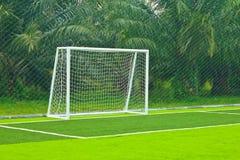 A soccer net Stock Image