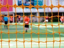 Soccer nets. Abstract soccer goal net pattern background Royalty Free Stock Image