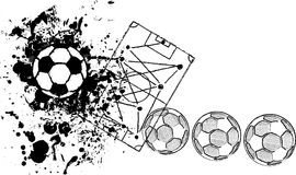 Soccer o. Football design template, Royalty Free Stock Images