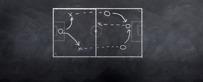 Soccer Offense Stock Images