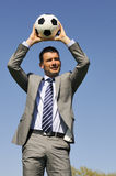 Soccer passion Royalty Free Stock Photo