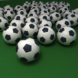 Soccer passion Royalty Free Stock Images