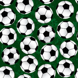 Soccer pattern Stock Photography