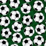 Soccer pattern Stock Photography