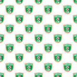 Soccer pattern seamless Stock Photos