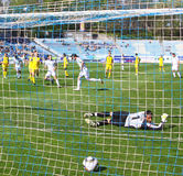 Soccer penalty Royalty Free Stock Photography
