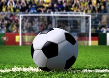 Soccer Penalty Kick Stock Photography