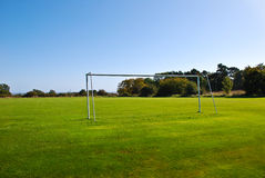 Soccer Pitch Royalty Free Stock Photography