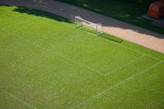 Soccer Pitch Royalty Free Stock Images