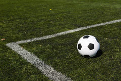 Soccer pitch Royalty Free Stock Image