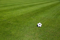 Soccer pitch Stock Photos