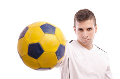 Soccer plaayer Stock Image