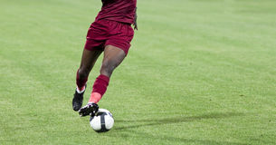 Soccer player Stock Photography