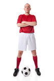 Soccer player Royalty Free Stock Photos