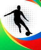 Soccer player Royalty Free Stock Image