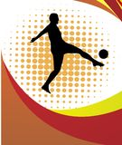Soccer player Royalty Free Stock Photo