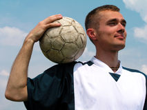 Soccer player Stock Image