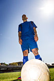 Soccer player Royalty Free Stock Photography