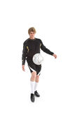 A soccer player Stock Photo