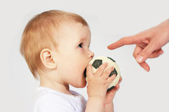 Soccer player. On white royalty free stock images