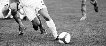 Soccer Player Detail Stock Photos