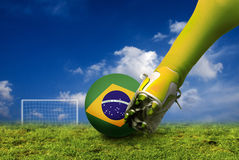 Football world cup Stock Photography