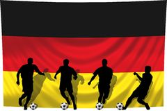 Soccer player Germany Stock Photo