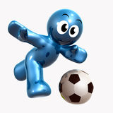 Soccer Player Icon Symbol Stock Photography