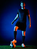 Soccer player Man isolated Stock Photography