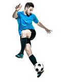 Soccer player Man Isolated Royalty Free Stock Photos
