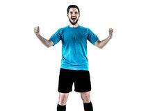 Soccer player Man Isolated Royalty Free Stock Photography