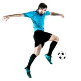 Soccer player Man Isolated Royalty Free Stock Image