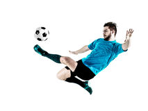 Soccer player Man Isolated Royalty Free Stock Photo