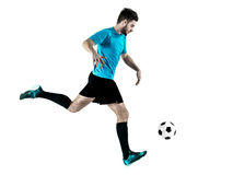 Soccer player Man Isolated Stock Image