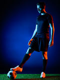 Soccer player Man  Royalty Free Stock Images