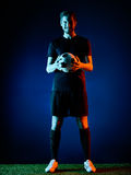 Soccer player Man  Stock Images