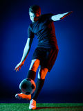 Soccer player Man  Royalty Free Stock Photo