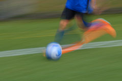 Soccer player running Royalty Free Stock Photography