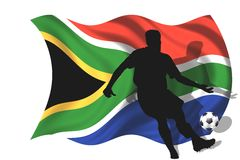 Soccer player South Africa Royalty Free Stock Images