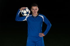 Soccer Player Standing Portrait Stock Photos