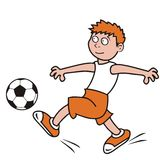 Soccer, player Royalty Free Stock Photos
