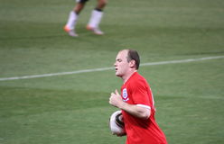 Soccer Player Wayne Rooney Royalty Free Stock Images