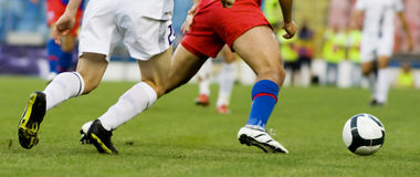 Soccer Players Stock Images