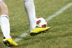 Soccer players Stock Photos